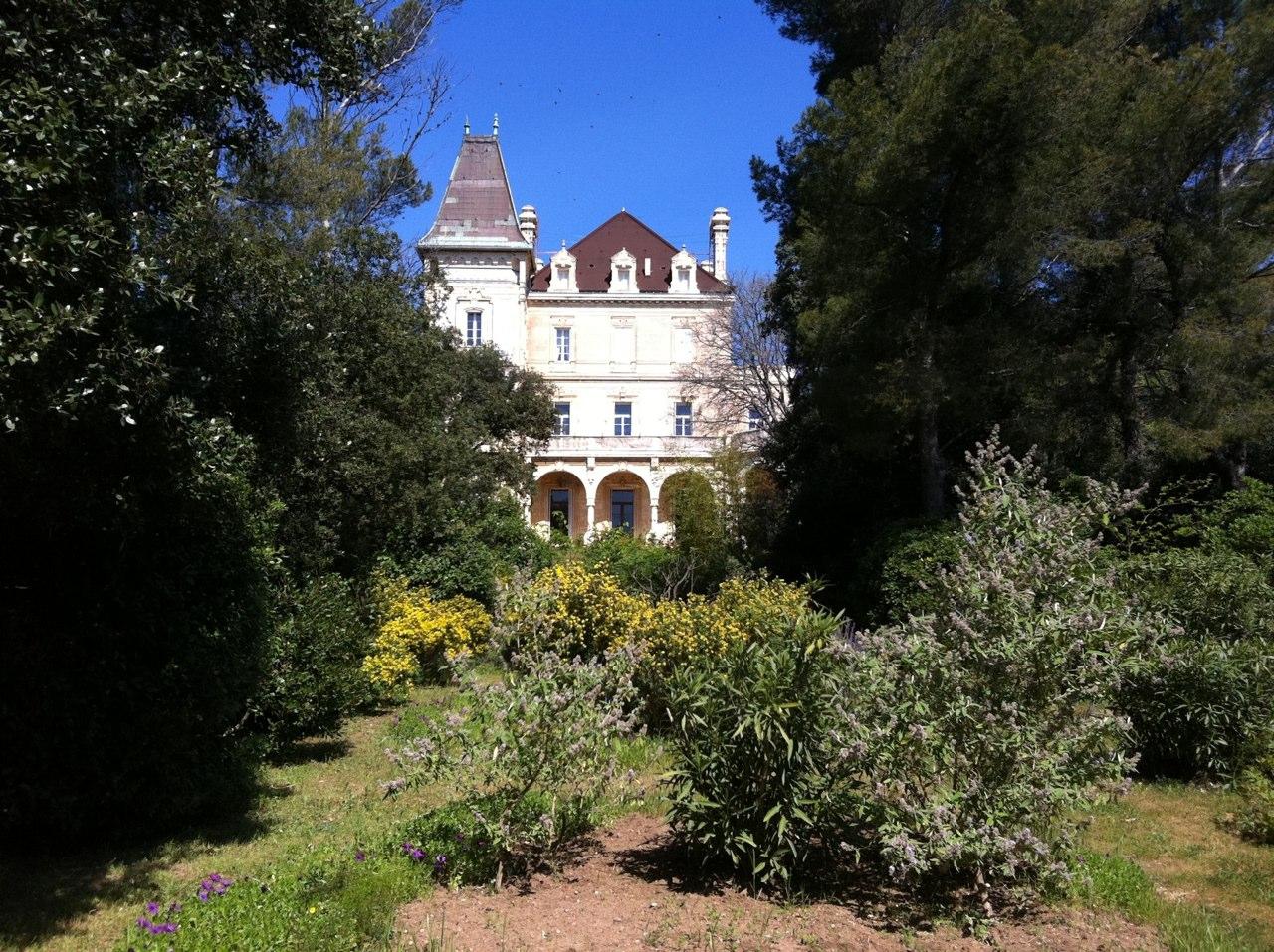 Château Charles-Roux, Sausset-les-Pins, Sud de la France