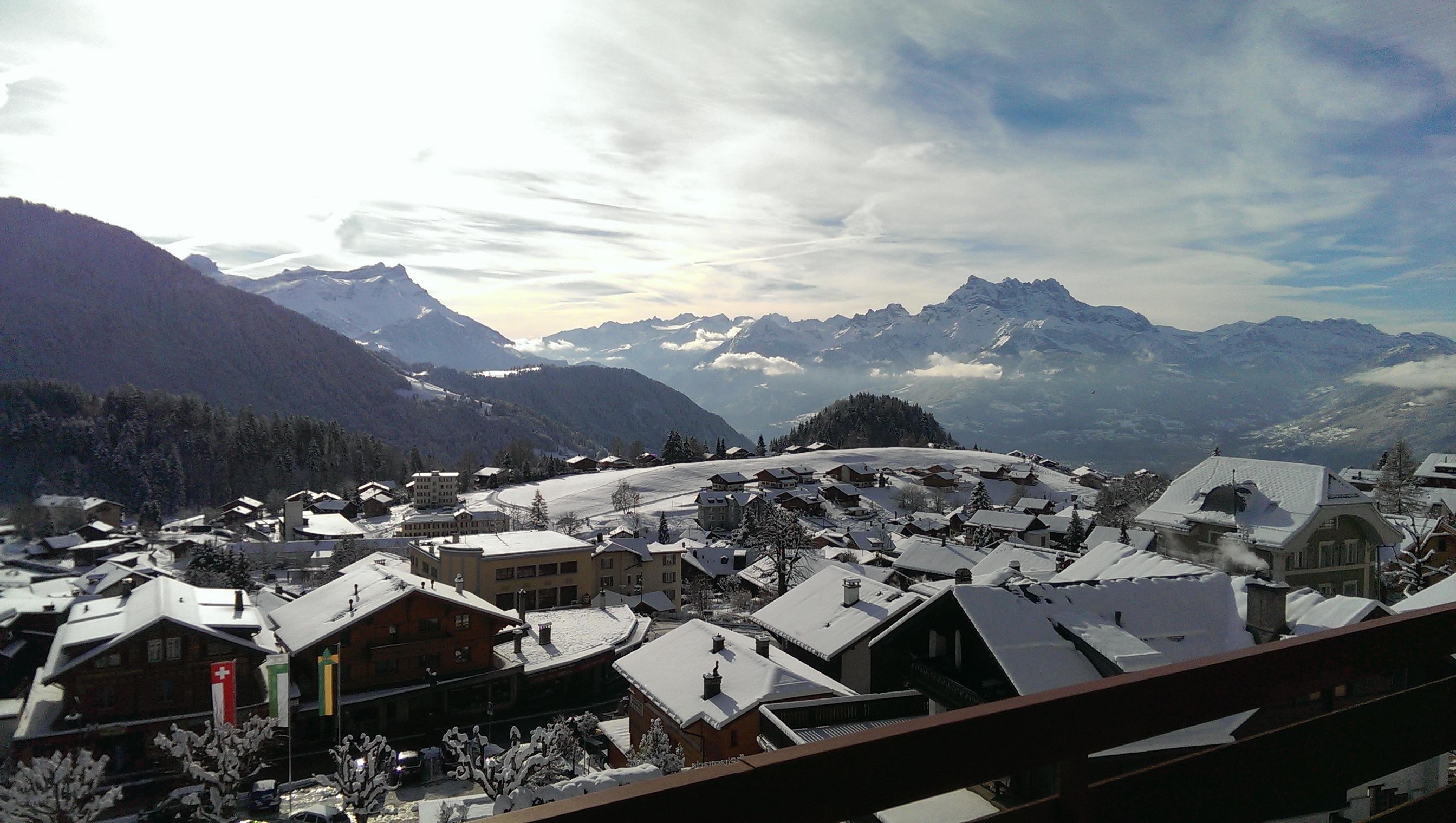 Cosy studio à la montagne, Leysin, Suisse